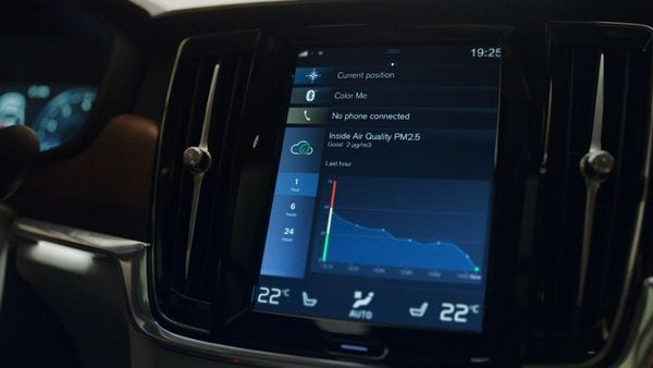 Volvo has introduced world-first air quality technology inside its cars.