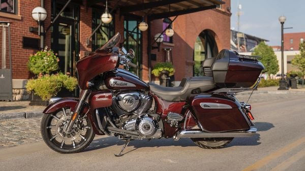 2021 Indian Roadmaster Limited pictured.