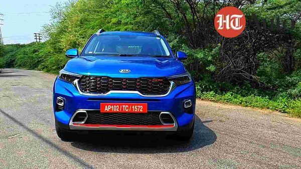 The Kia Sonet boasts a very bold styling package and it certainly is a head turner on the roads.