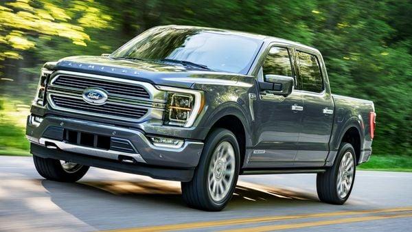 Ford 2021 F-150 pickup truck.