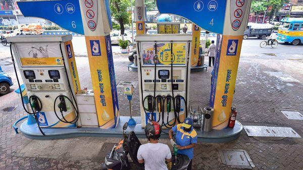 Representational photo of a petrol pump (PTI)