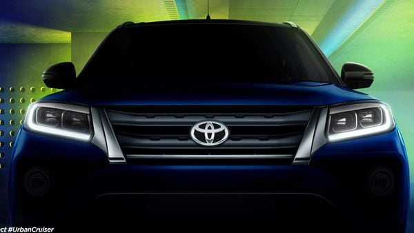 Upcoming Toyota Urban Cruiser.