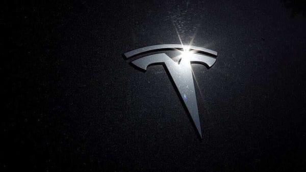 Tesla logo is seen on a car. (File Photo) (REUTERS)