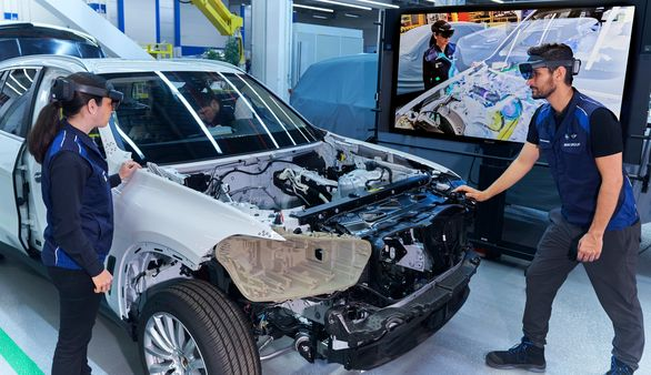 Augmented reality being used for vehicle prototypes at BMW