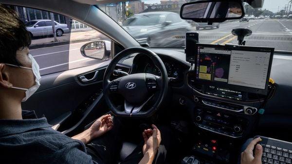 Representational photo of a self-driving car (AFP)