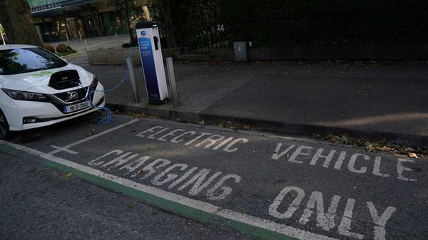 Representational photo of an EV charging station (REUTERS)