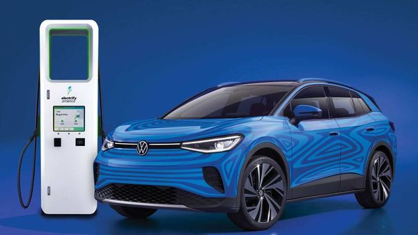 Electrify America and Volkswagen of America announce agreement providing unlimited charging plan for owners of the all-new 2021 ID.4 electric SUV.