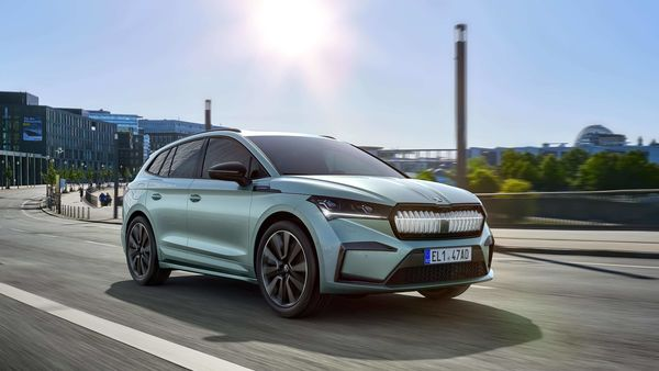 Skoda's first electric SUV Enyaq iV.