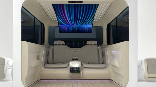 Hyundai Ioniq EV concept cabin
