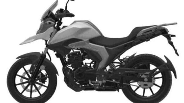 The mini-adventure bike will be plonked with the same 162 cc, single-cylinder mill which is found on the Haojue DR160S.