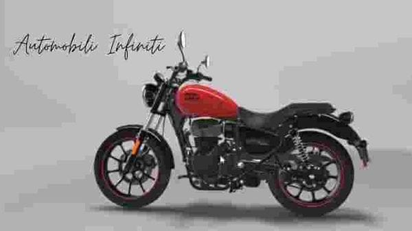 Royal Enfield Meteor 350 Fireball in red. Image credit: Instagram/Automobili.infiniti
