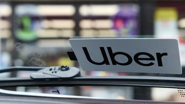 Uber logo (REUTERS)