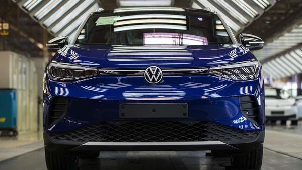 A Volkswagen ID.4 electric sports utility vehicle (SUV) (Bloomberg)