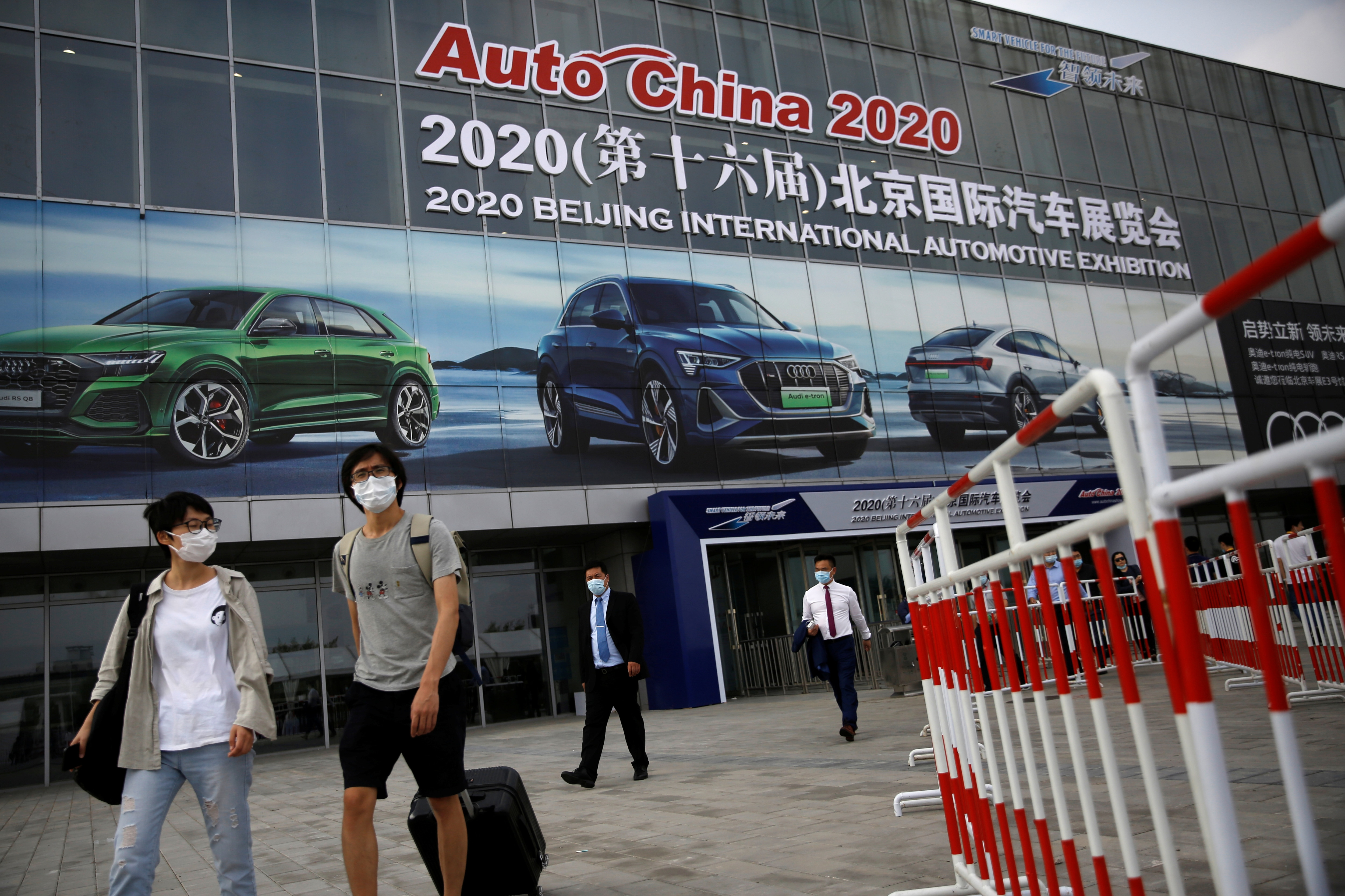 Beijing Auto Show, also called Beijing Motor Show and Auto China 2020, got underway on September 26 with car makers - local and global - attempting to find favour among prospective buyers.The auto exhibition was scheduled to be held earlier this year but was delayed due to the Covid-19 pandemic. (REUTERS)