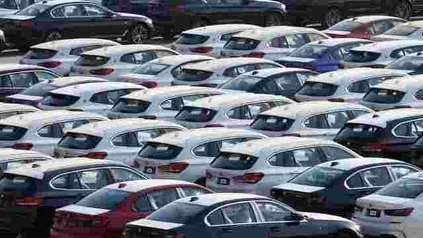 Representational photo of newly manufactured cars (REUTERS)