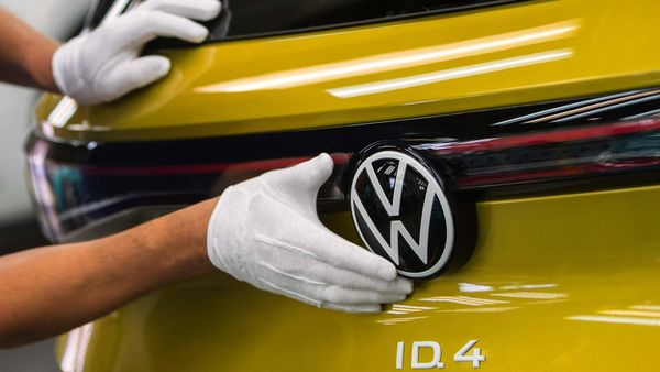 Volkswagen ID.4 sports utility vehicle (SUV) (Bloomberg)
