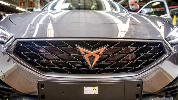 A Cupra Formentor automobile. Cupra is SEAT's sports car brand. (Bloomberg)