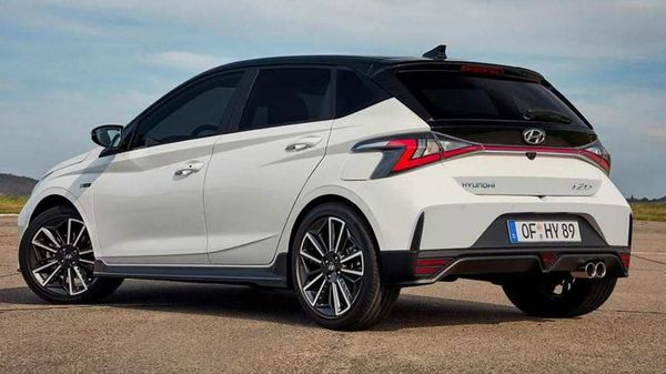 This is the first-ever N Line avatar of the Hyundai i20.