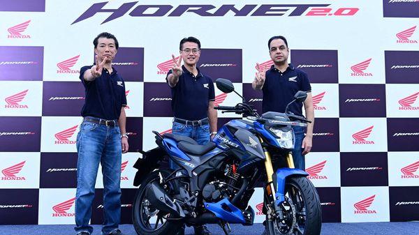 Representational image from Honda Hornet 2.0 launch.