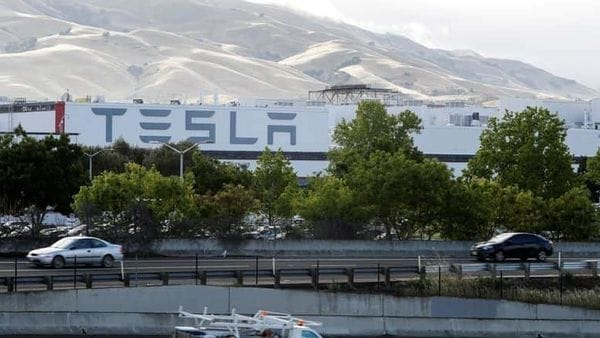 Representational file photo of Tesla's primary vehicle factory in Fremont, California. (REUTERS)