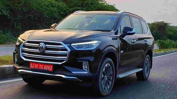 MG Motor is set to launch the Gloster SUV on October 8. (Photo: Sabyasachi Dasgupta)