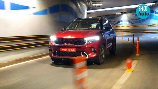 Kia Sonet SUV made debut in September, selling more than 9,200 units. (Photo: Sabyasachi Dasgupta)