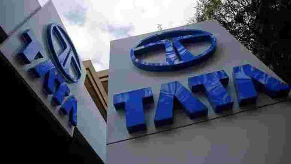 File photo: Tata Motors logos are seen at their showroom in Mumbai. (REUTERS)
