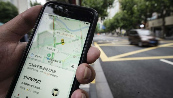 China's Didi Chuxing has partnered with WhatsApp to accept orders in Brazil in a move that would allow users to summon cars without using another app. (Bloomberg)