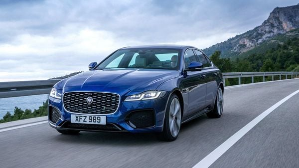 2021 Jaguar XF has got a mid-life facelift with design changes on the inside and outside.