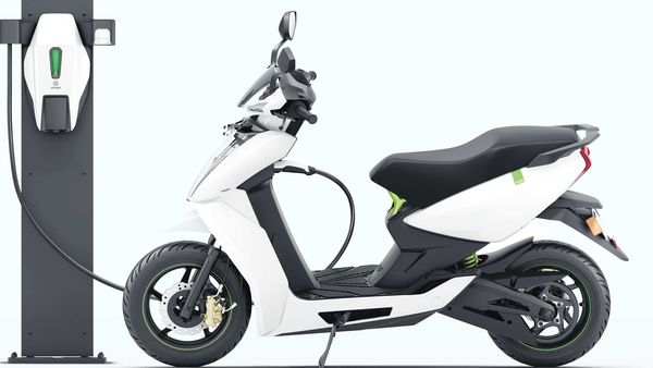 File photo of an electric two-wheeler charging used for representational purpose only (MINT_PRINT)