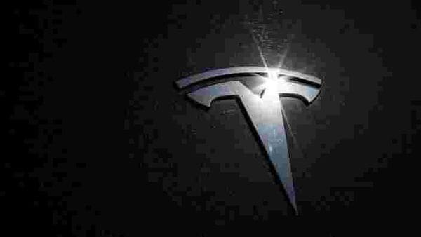 Tesla logo is seen on a car. (File Photo) (REUTERS)