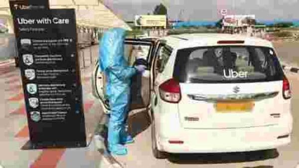 Photo courtesy: Screen-grab of a video posted by Uber India/@Uber_India