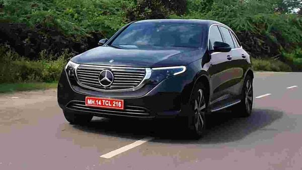Mercedes EQC is the company's first all-electric offering. (HT Auto photo)