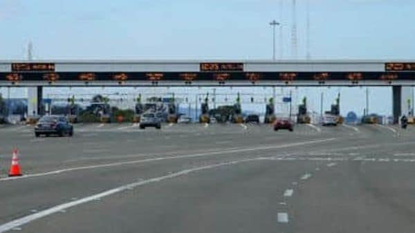 File photo of toll plaza used for representational purpose only (AP)