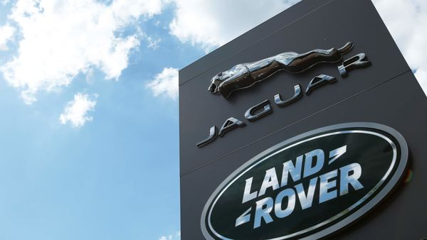 The Jaguar Land Rover logo is seen at a dealership, following the outbreak of the coronavirus disease, Milton Keynes, Britain (REUTERS)