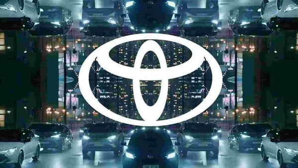 Representational file photo of Toyota Motor's logo,