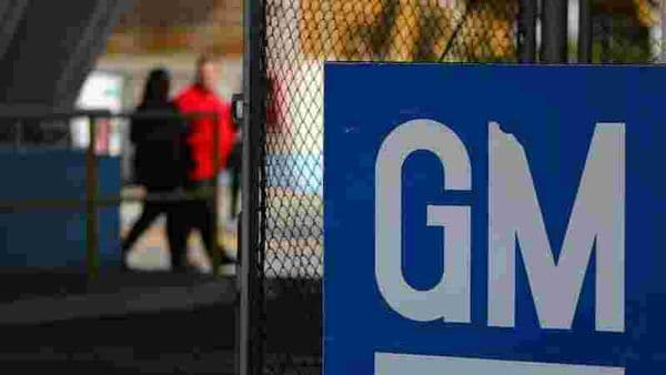 The GM logo is seen at the General Motors plant in Sao Jose dos Campos, Brazil, January 22, 2019. REUTERS/Roosevelt Cassio/Files (REUTERS)