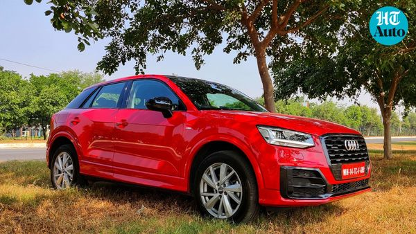 Audi is all set to launch the Q2 SUV in India on October 16. Bookings have already commenced at a token amount of  <span class='webrupee'>₹</span>2 lakh. (HT Auto/Sabyasachi Dasgupta)