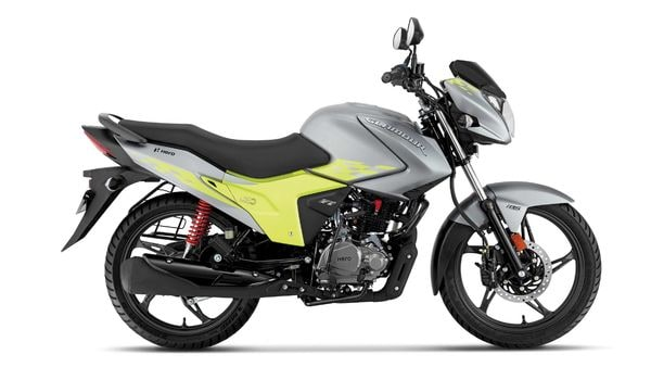 Hero MotoCorp's Glamour Blaze 125 cc bike.
