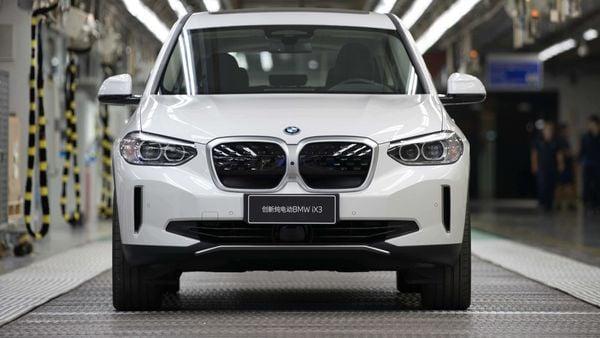 BMW's first iX3 model.