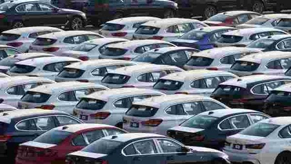 New cars seen at a port in Liaoning province, China. (File photo) (REUTERS)
