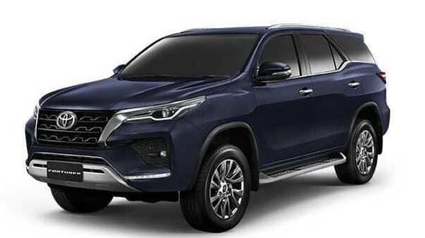2021 Toyota Fortuner pictured