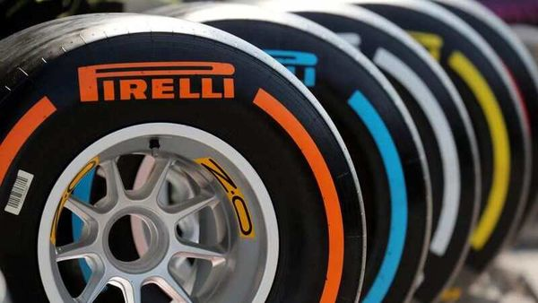General view of Pirelli tyres for Formula 1 cars. (File Photo) (REUTERS)