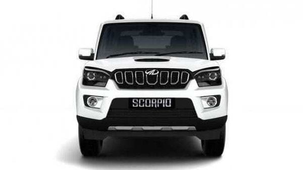 Mahindra Scorpio BS 6 pictured.