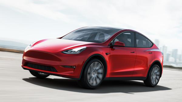 File photo of Tesla Model Y.