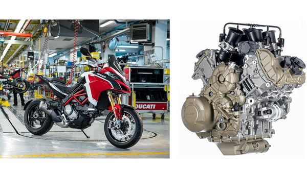 The Ducati Multistrada V4 will be powered by the all-new V4 Granturismo engine.
