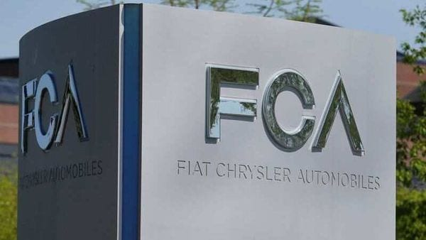 A Fiat Chrysler Automobiles (FCA) sign is at the US headquarters in Michigan. (File photo) (REUTERS)