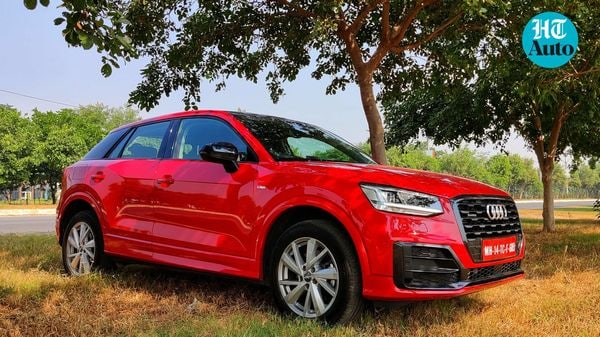 Audi Q2 is the most affordable SUV from the company. (HT Auto/Sabyasachi Dasgupta)