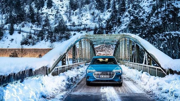 Audi e-tron claims to fire to 100 kmph in just 5.5 seconds and promises the same level of performance and luxury as its siblings, but with an electric heart.