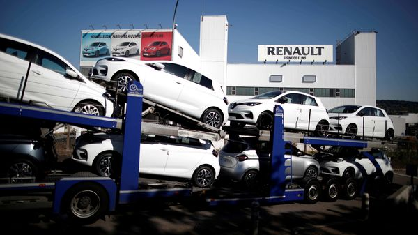 File photo of a Renault assembly plant. (REUTERS)